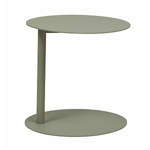 Aperto Ali Round Side Table - Grey 40