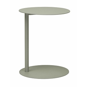 Aperto Ali Round Side Table - Grey 50