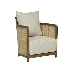 Baha Sofa Occasional Chair - Hazelnut
