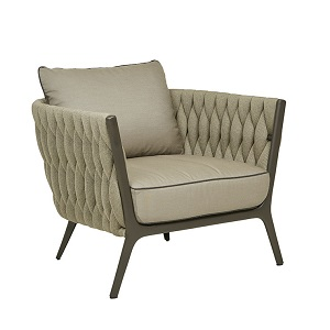 Livorno Sofa Chair - Taupe