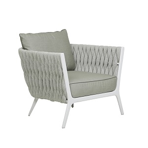 Livorno Sofa Chair - Pale Grey