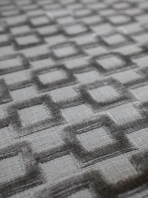 Connection Rug - Silver