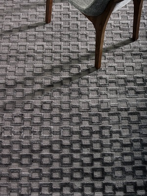 Connection Rug - Charcoal