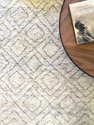 Nordic Solitaire Rug - Natural