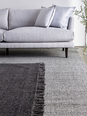 Positano Rug - Dark Grey