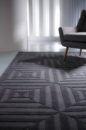 Escape Rug - Slate by Bayliss