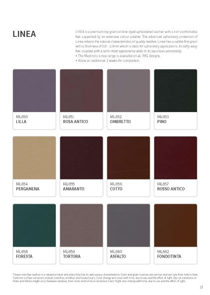 IMG Linea Leather Colour Options 5