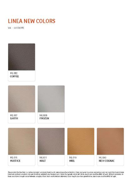 IMG Linea Leather Colour Options 8