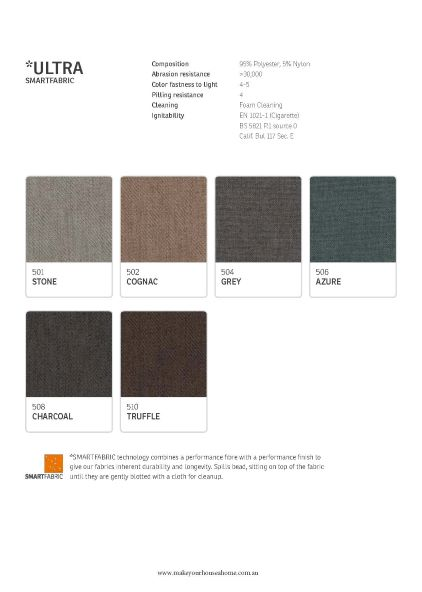 IMG Ultra Fabric Colour Options