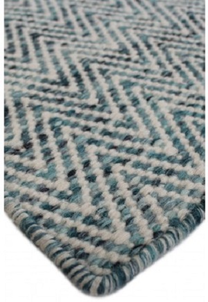 Brazil Rug - Atlantic Blue by Bayliss