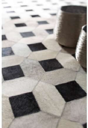 Cowhide Rug - Lattice by Bayliss