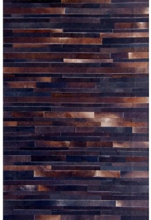 Cowhide Rug - Cola Stripes by Bayliss