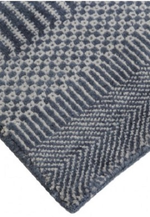 Hamilton Rug - Chambray Blue Bayliss