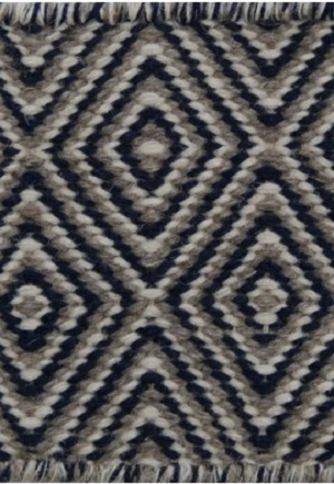 Herman Rug - Diamond Navy Blue