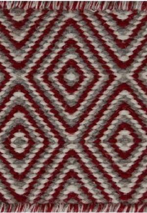 Herman Rug - Diamond Red