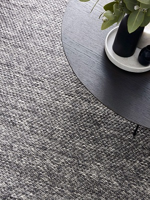 Hunter Rug - Denim Grey