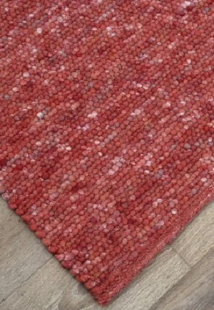 Iceland Rug - Coral Orange Bayliss