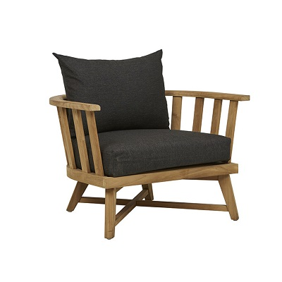 Sonoma Slat Occasional Chair - Ink
