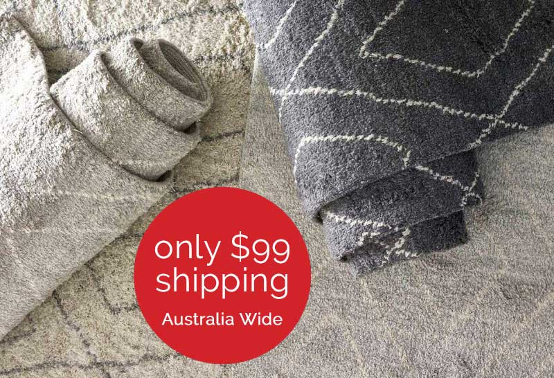The Rug Collection - Flat Rate Shipping Australia Wide