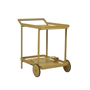 Lagoon Bar Trolley - Mustard