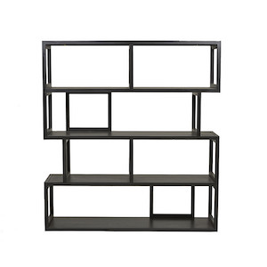 Anja Bookcase - Ebony