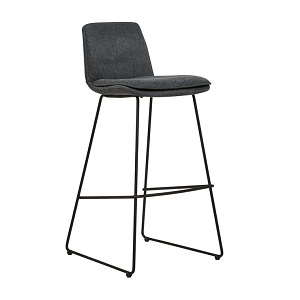 Chase Barstool - Charcoal