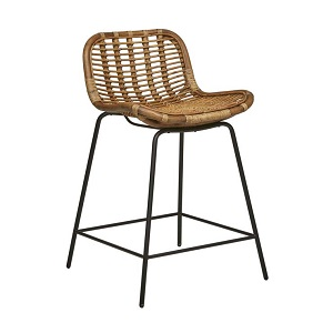 Plantation Butterfly Barstool - Natural
