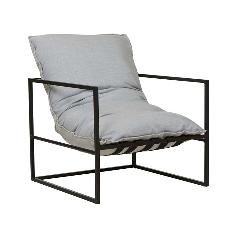 Aruba Frame Occasional Chair - Lead