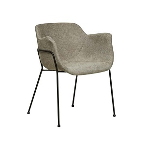 Etta Arm Chair - Khaki Grey