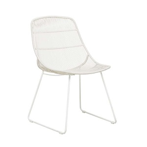 Granada Scoop Dining Chair - Chalk