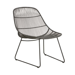 Granada Scoop Occasional Chair - Licorice