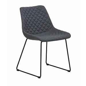 Henri Dining Chair - Gunmetal