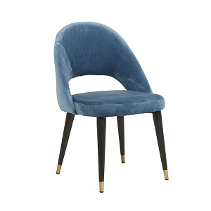 Lewis Dining Chair - Blue Grey