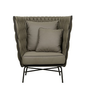 Livorno Cocoon Occasional Chair - Taupe