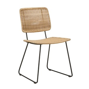 Mauritius Open Dining Chair - Natural