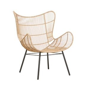 Mauritius Wing Occasional Chair - Natural