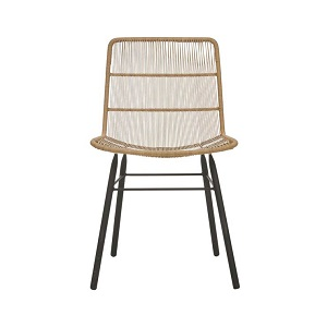 Mauritius Woven Dining Chair - Natural