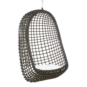 Plantation Nest Hanging Chair - Black