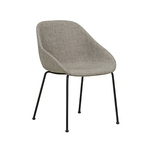 Ronald Arm Chair - Cloud Grey
