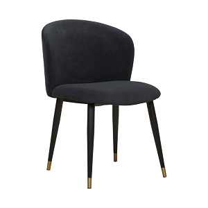 Sara Dining Chair - Onyx Velvet