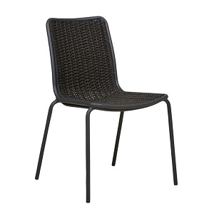 Villa Rope Dining Chair - Charcoal