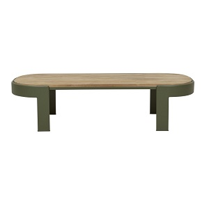 Lagoon Oval Coffee Table - Khaki