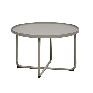 Lagoon Medium Round Coffee Table - Taupe