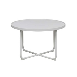 Lagoon Medium Round Coffee Table - White
