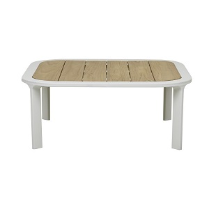 Lagoon Square Coffee Table - White