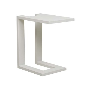 Aruba Side Table - White