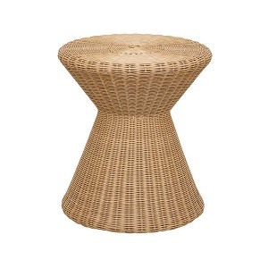 Mauritius Woven Side Table - Natural