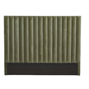Kennedy Tufted Bedhead - Olive