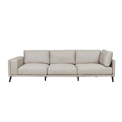 Aruba Square Chaise Sofa - Left