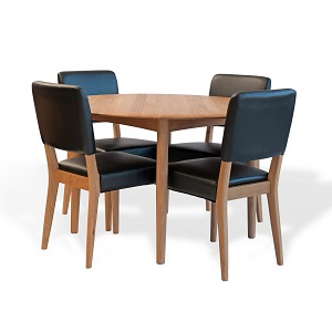 Adele 5 Piece Dining Setting by IMG